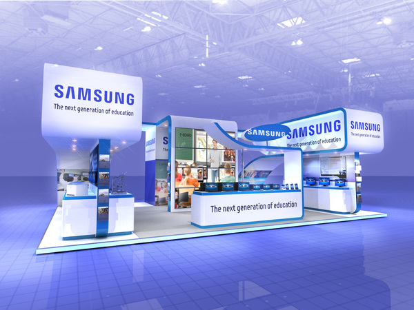 Expo Stands Point Of Purchased : Samsung education exhibitionboothmalaysia