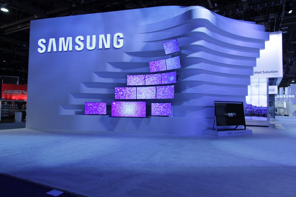 Samsung Exhibition Booth Design : Samsung exhibit tv exhibitionboothmalaysia