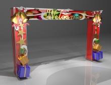 Entrance-Arch-ChristmasBazaar